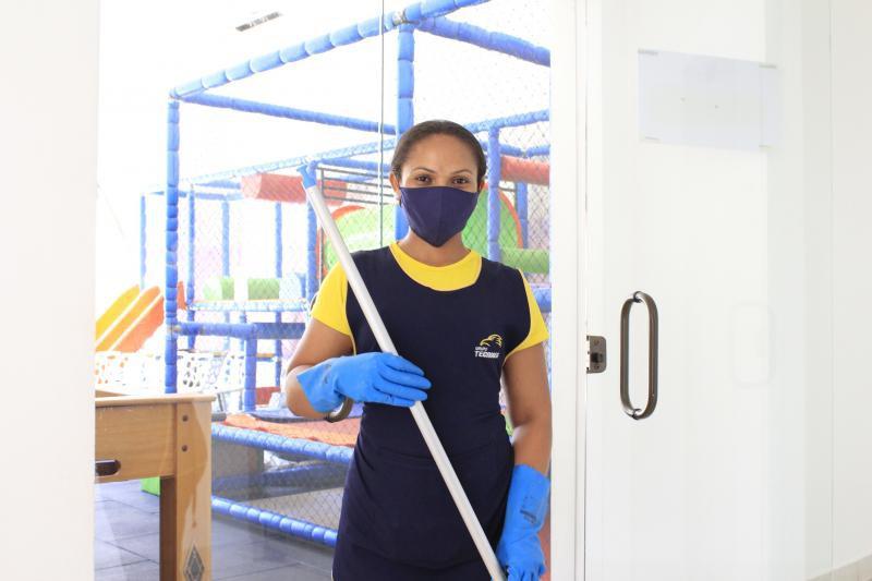 Empresas de prestação de serviços de limpeza e conservação